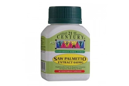 21ST SAW PALMETTO EXTRACT 30´S