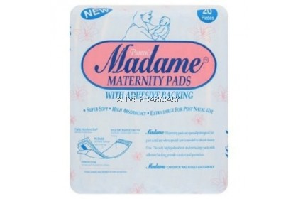 Madame Maternity Pads 20'S