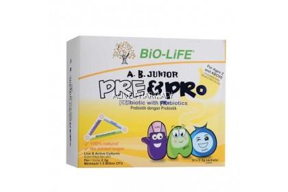 Bio-Life A.B.Junior Pre & Pro 50 Sachets