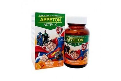 Appeton Activ-C Tab Orange 60'S