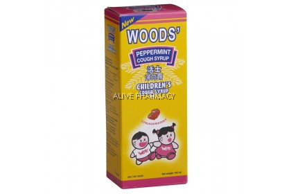 Wood'S Peppermint Cough Syrup Children 100ml