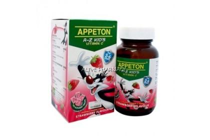 Appeton A-Z Vitamin C Strawberry 100'S