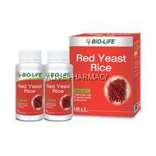 Bio life red yeast 100'sx2