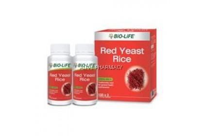 Bio life red yeast 100'sx2