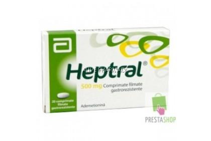 ABBOTT HEPTRAL 500MG 20 TAB'S (exp 3/22)