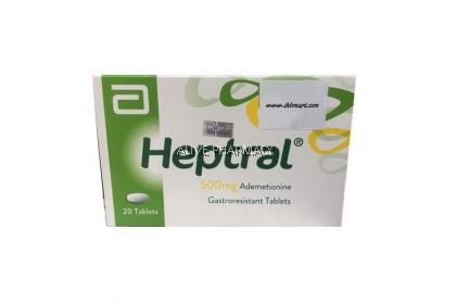 ABBOTT HEPTRAL 500MG 20 TAB'S