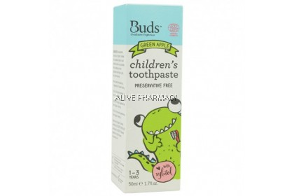 Buds for Kids Children's toothpaste with natural Xylitol (1-3 years) 50ML
