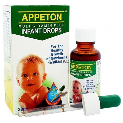 Appeton Multivitamin Infant Drops 30Ml