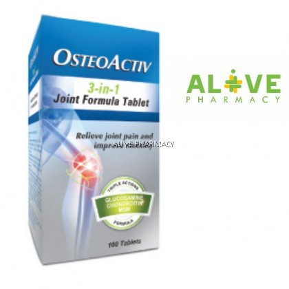 Osteoactiv 3-In-1 Joint Formula Tab 100'S