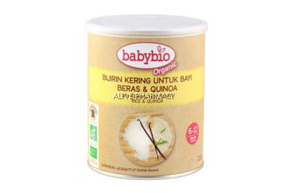 Why Not? BabyBio Organic First Flavor Cereal 6 months (220g) (New packaging)