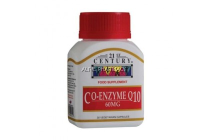 21ST CO-ENZYME Q 10 60MG 30'S