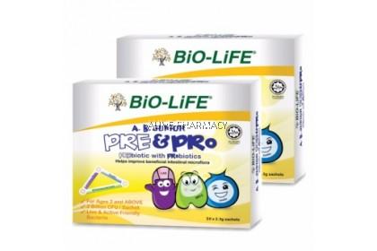 BIO LIFE AB JUNIOR PRE & PRO 50'S X2