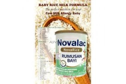NOVALAC NOVARICE INFANT FORMULA 800G (Expiry 25/4/2021)