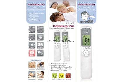 HUDBIC HFS-1000 NON-CONTACT THERMOMETER