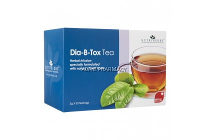 NUTRIHERBS DIA-B-TOX TEA 30'S