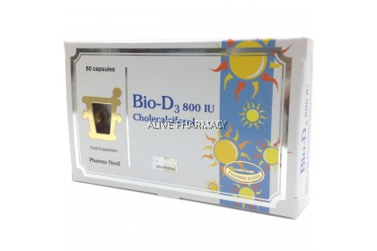 BIO-D3 800IU 80'S CHOLECALCIFEROL (PHARMA NORD)