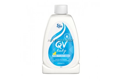 QV BABY BATH OIL 250ML
