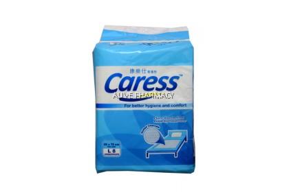 CARESS UNDERPAD SIZE L 8'S x5