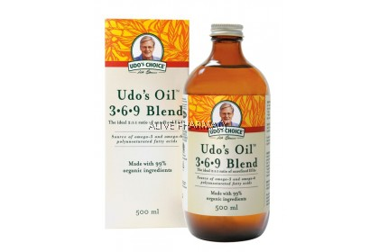 SALUS UDO'S 3.6.9 OIL BLEND 500ML (FOR WALK IN CUSTOMER ONLY)