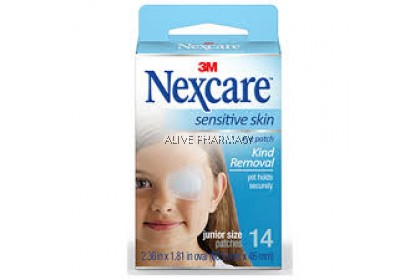 3M Nexcare Sensitive Skin Junior Eye Patch (14 Patches)