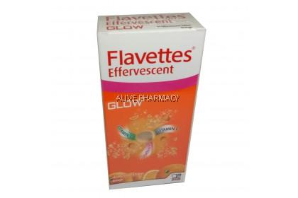 FLAVETTES EFFERVESCENT GLOW TAB 15'S