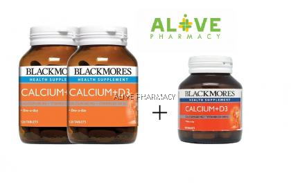 BLACKMORES CALCIUM D3 120'SX2 +30'S