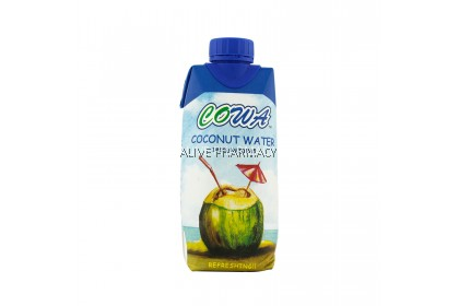COWA COCONUT WATER 330ML (12 bottles)