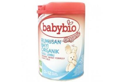 BABYNAT INFANT ORGANIC 0-12 MONTH 900G (Exp 17/9/2020)
