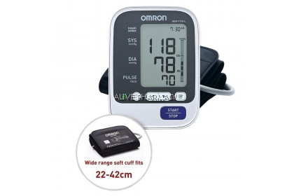 OMRON BLOOD PRESSURE MONITOR HEM-7130- LARGE CUFF