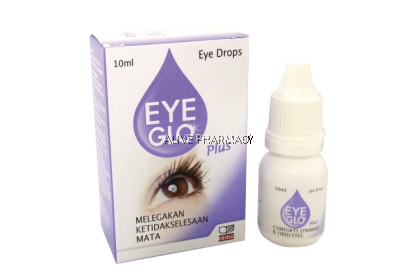 EYE GLO PLUS EYE DROPS 10ML
