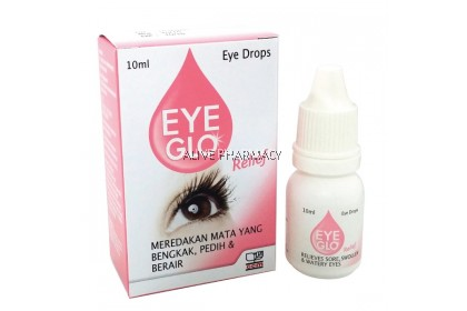EYE GLO RELIEF DROPS 10ML