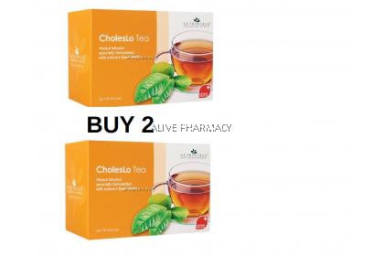 buy 2 Nutriherbs Choleslo tea 3G 30's