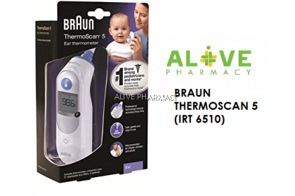 BRAUN THERMOSCAN 5 (IRT 6510)