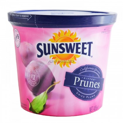 SUNSWEET PITTED PRUNES CANISTER (USA) 12X3