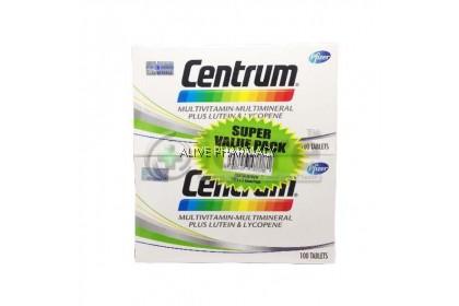 CENTRUM MULTIVITAMIN 100'S Twin pack