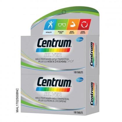 CENTRUM SILVER MULTIVITAMIN 100'S Twin pack