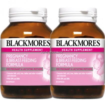 BLACKMORES PREGNANCY & BREAST FEEDING FORMULA 60'S X 2