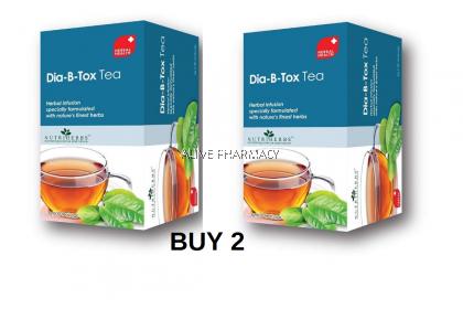 buy 2 NUTRIHERBS DIA-B-TOX TEA 30'S