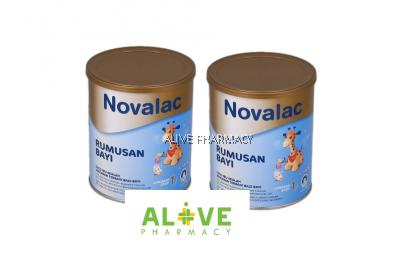 NOVALAC STEP 1 INFANT FORMULA 400G X2