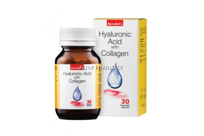 KORDEL'S HYALURONIC ACID WITH COLLAGEN 30'S