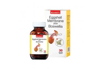 KORDEL'S EGGSHELL MEMBRANE +BOSWELLIA 30'S (exp 3/7/2020)