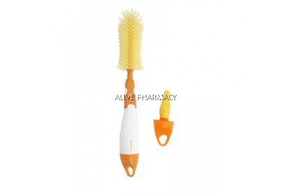 AUTUMNZ DELUXE 2IN1 SOFT SILICONE BOTTLE BRUSH (BPA FREE)