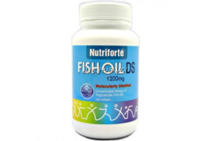 NUTRIFORTE FISH OIL 1200MG 100 SOFTGEL