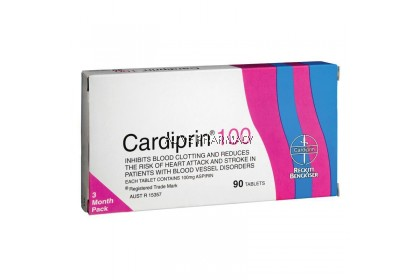 CARDIPRIN 100 TRIPLE PACK