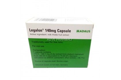 LEGALON 140MG CAP 100S