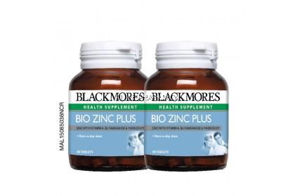 Blackmores Bio Zinc PLUS Tablets Bottle of 90 x 2